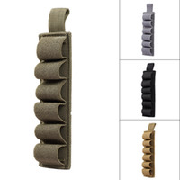 Wholesale Nylon Tactical Rounds Pouch Shotgun Shell High Quality Ammo Holder Bandolier Belt For Outdoor Hunting Sport Accessories Shotshell Pouch