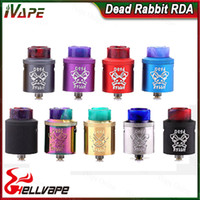 Wholesale terminal for sale - Group buy Hellvape Dead Rabbit RDA Atomizer Top Terminal Four Post Build Deck Tank Rebuildable Dripping Atomizer For Thread Box Mods Original