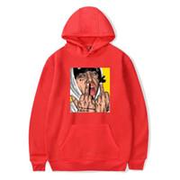 hip hop street mens ropa al por mayor-hip hop sudadera con capucha Lil Xan Xanarchy Street sudadera con capucha hombres mujeres chaqueta abrigo Sports Designer Mens ropa talla XXS-4XL
