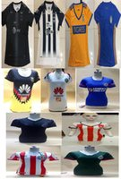 Wholesale American Football Jerseys Wholesale - 2017 2018 Mexico club Chivas Guadalajara Tigres Monterrey American soccer jerseys women female soccer football shirt DHL shipping