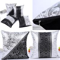 ingrosso regali di porcellana cinese-Porcellana cinese federa Cina cucitura federa casa divano auto decorativa regalo di natale copertura del cuscino senza nucleo 45 * 45 cm hh7-1518
