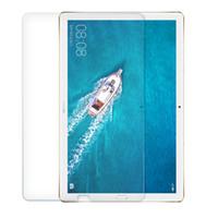 tabletas de vidrio templado al por mayor-Vidrio templado para el Huawei MediaPad T3 T1 disfrutar del juego M2 M3 M5 Lite honor agua X2 P2 Tablet PC Protectores de pantalla de cine