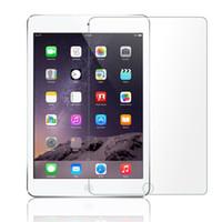 tabletas de vidrio templado al por mayor-Para iPAD Pro 11 12.9 Protector de pantalla de cristal templado iPad 9.7 Tableta Película para Samsung Tab A 9H Sin paquete