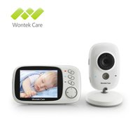câmera de segurança de cores sem fio venda por atacado-3.2 polegada Sem Fio Vídeo Color Baby Monitor de Alta Resolução Bebê Nanny Security Camera Night Vision Monitoramento de Temperatura