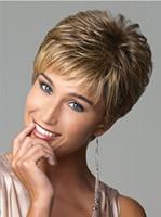 Parrucche commercio estero Europa e gli Stati Uniti personalità capelli  corti capelli morbidi gradiente styling parrucca capelli corti ricci spot 626bbcaca38a