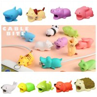 Wholesale lightning toys for sale - Group buy 36 Design Cable Bite Charger Cable Protector Savor Cover for iPhone Lightning Cute Animal Design Charging Cord Protective toys B
