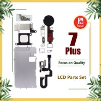 Wholesale repair buttons online - For iphone Plus LCD Repair Parts Metal Plate Kit Front Camera Screws Earpiece Home Button Parts Set quot