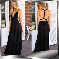 Wholesale Maxi Specials - Bohemian Spaghetti Strap Hollow Out New Arrival Special Offer Vestidos De Fiesta Maxi Dress Plus Size Women Summer Dress