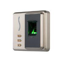leitor de controle de acesso de impressão digital venda por atacado-ZKTeco SF101 Invólucro de Metal À Prova D 'Água IP65 Biométrico de Impressão Digital RFID Access Control reader controlador de acesso USB Cliente