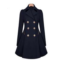 40492b33091 2016 nouvelle tendance de la mode printemps et en automne et le style de  l amérique européenne long manteau de tranchée femal tranchée femmes