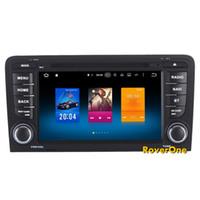 ingrosso cina s3-Octa Core Android 8.0 Car Multimedia DVD Radio per Audi A3 S3 RS3 Autoradio Ricevitore stereo Navigazione GPS Sat Navi Lettore audio video