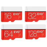 Wholesale Micro Sd Memory Cards 16gb - EVO Plus 16GB 32GB 64GB 128GB Micro SD Card SDXC SDHC TF Memory Card Class 10 EVO+ UHS-I Card with Adapter Retail Package