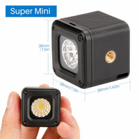 Wholesale gopro camera waterproof resale online - L1 Waterproof Dimmable LED Video Light on Camera for Canon Nikon DSLR Gopro Adventure Lighting for DJI Yuneec Drones