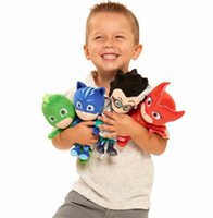 Wholesale children hero - PJ 4Styles Masking Cartoon Hero Cat Boy Gekko Owlette Movie Plush Dolls Stuffed Toys 20cm Best Gift For Children KKA5012