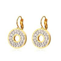 diseños de joyas de estilo indio al por mayor-Pendientes de aro de oro con diseño de estilo indio mexicano de joyería de 18 quilates ED-100G
