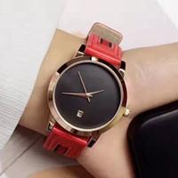 señoras bandas de reloj al por mayor-Alta calidad Nuevo reloj de lujo Diseño superior Casual famoso reloj de pulsera banda de cuero Pin lock moda mujer reloj dama reloj femenino reloj