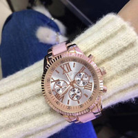 Wholesale michael diamonds - Watches michael Quartz Watch Casual Full Steel Dial Style woman All over the sky stars Crystal Diamond Rome Word Dial Style Geneva 686