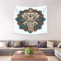 vendas de têxteis venda por atacado-Tapete Tapestry Totem de Poliéster Elefante Fundo Decoração Da Parede Xaile Lenço Toalha De Praia Macia Têxteis Para Casa Venda Quente 26xl2 gg