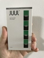 Wholesale Cool Mints - Newest mango mint juul pods for JUUL kits cool cucumber pod package different from original No Leak 4 pods in a box refillable cartridge