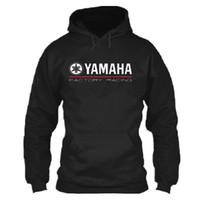 jersey caballero al por mayor-2018 NUEVO para YAMAHA Team race FACTORY ropa de la motocicleta caballero pullover abrigo sweatershirts sudadera con capucha casual N