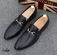 Wholesale top mens dress shoes - High Quality Fashion Men High Top British Style Rrivet Causal Luxury Shoes Men Red Gold Black Bottom Shoes dress shoes mens 37-44h19