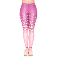 Wholesale women colorful yoga pants for sale - Girl Leggings Triangles Ombre D Graphic Print Women Skinny Stretchy Comfortable Yoga Wear Pants Lady Colorful Pattern Trousers YX52024