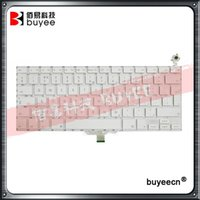 Wholesale Macbook Keyboard Uk - A1181 UK Keyboard For Macbook Air A1181 A1185 English Keyboard White Black Replacement