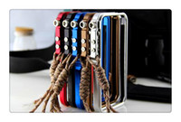 outils de cas iphone achat en gros de-Cas de téléphone portable pour iphone 6 7 8 X Aluminium métal sans outil CNC Bumper Trigger Tactical Edition cas couverture de cadre avec l'escalade