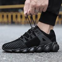 erkekler için en sıcak ayakkabılar toptan satış-Erkekler Koşu Ayakkabıları Süet Sıcak Sneakers Eğitmenler Erkek Spor Mens Atletik Sıcak Çapraz Yürüyüş Koşu Yürüyüş Rahat Nefes Açık Ayakkabı