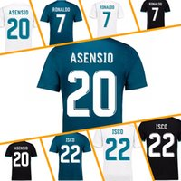 Wholesale Wholesale Real Madrid - cheap Real madrid 2018 jerseys soccer RONALDO ASENSIO MODRIC soccer jersey football shirt BALE RAMOS BENZEMA Camiseta 17 18 real madrid