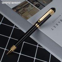 stifträder großhandel-Heißer verkauf Schwarz stift barrel gold rad halter kugelschreiber luxus MONTE MOUNT stifte für schreiben bürobedarf
