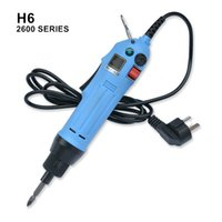 Wholesale high torque gear - 220v electric screwdriver straigh plug constant speed torque adjustment high quality motor gear suit workshop 2-6.35mm screw model H6