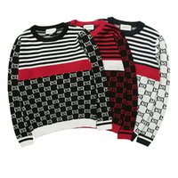 Wholesale best computer brands for sale - Group buy new best selling high end casual fashion round neck men s polo sweater brand cotton pullover men s sweater