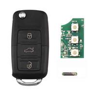 ingrosso skoda remote-3 pulsanti 434 MHz 48 Chip 1K0 959 753 G Chiave remota per SKODA Octavia 2004-2010 Chiave auto Telecomando 1K0959753G NO logo