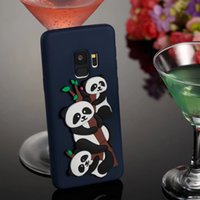 Wholesale iphone panda cases 3d for sale – best 2018 For Samsung Galaxy S8 S7 S9 plus iPhone X Cute D Cartoon Panda Cat Owl Dog Soft Tpu Silicone Case Cover