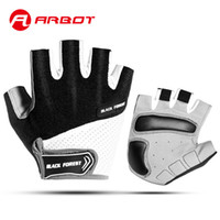 Mens & Women's Cycling Gloves Breathable Summer Sports Bike Gel Pad Non-Slip Bicycle Half Finger Short Gloves