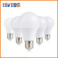 bombilla a19 al por mayor-E26 E27 Luz de bombillas led regulable A60 A19 12W Lámpara led SMD Luces blanco cálido / frío AC 110-240V Ahorro de energía