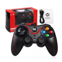 игра управления  оптовых-Terios T3 Wireless Bluetooth Gamepad Джойстик Game Gaming Controller Пульт дистанционного управления для Samsung HTC Android Smart phone Tablet TV Box
