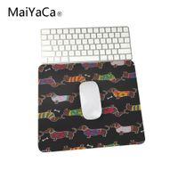 персонализированные коврики для мыши оптовых-Быстрая печать пользовательских противоскользящие прочный такса Винер собака коврик для мыши компьютер коврик для мыши, дома и офиса коврик
