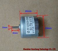 Wholesale brush dc motor - Brand new Mabuchi 5.9V micro DC motor RF-320CH-12400 24*18mm 5500RPM carbon brush motor ~