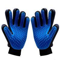 produkte gel großhandel-Heiße Verkaufs-Haustier-Produkt-Haustier-Handschuhe Silikagel-fünf Finger-Bürsten für Hunde Katzen Artefakt-Silikon-Badmassagehandschuhe Guantes de Mascota
