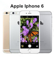 Wholesale Dual Gsm - Original Unlocked Apple iPhone 6 6 plus without fingerprint Cell Phones 4.7'IPS 2GB RAM 16 64 128GB ROM GSM WCDMA LTE refurbished Phone