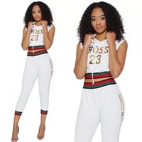 Wholesale linen pants tops - Hot Sale women clothes fashion tracksuits hoodies women two pieces outfit Designer Pantsuits african clothing slim fit (tops+pants)