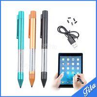 android için kalem kalemi toptan satış-AKTİF Stylus Kalem Kapasite Kalem Tablet Için Yüksek Kalite iPad Sumsung Android Tablet Için Stylus Dokunmatik Kalem Telefon