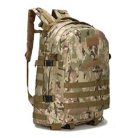 Wholesale chicken 3d - For the Jedi survival buried money, eat chicken backpack three-layer backpack mountaineering, double camouflage waterproof tactical 3D bag t