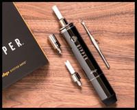 e marcas de cigarros venda por atacado-Kit de vaporizador de cera 2018 popular nova marca dab pen starter kit dipper cigarro eletrônico cera de imersão óleo dispositivo de fumar e cig