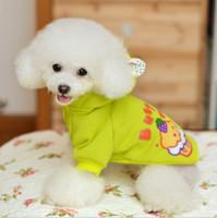 bandanas do cão do inverno da queda venda por atacado-Atacado-Novo Moda Pet Outono Inverno Bolo Camisola Dog Clothes Dog Sweater Coats Roupa Pet
