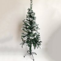 Wholesale Home Party Marketing - 120CM Dense Christmas Snow Tree Home Party Ornament Hotel Market Decoration Artificial Snowflake Pine Festival Supplies CKG62