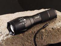 precios de la linterna al por mayor-Precio más bajo, UltraFire T6 CREE XM-L T6 2000Lumens Antorcha de alta potencia Zoomable LED linterna