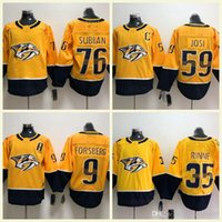 Nashville Predators Ice Hockey Men Women Kids 76 PK Subban 35 Pekka Rinne 9  Filip Forsberg 59 Roman Josi Jerseys S-3XL ba76ad081